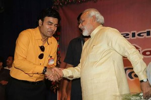mukhtar shah with pm narendra modi