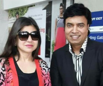 Mukhtar Shah With Celebrities